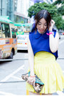 Yellow-twisted-sisters-skirt-bubble-gum-jeffrey-campbell-wedges
