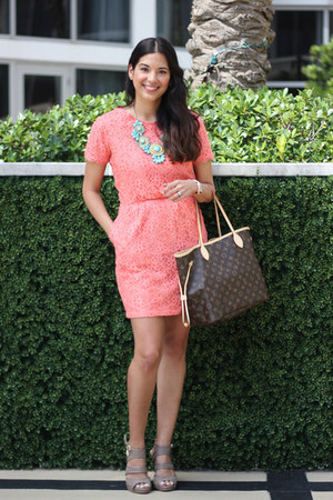 Dolce Vita dress - Louis Vuitton purse - Sasha London heels