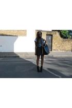 Primark skirt - vintage vest - Topshop t-shirt