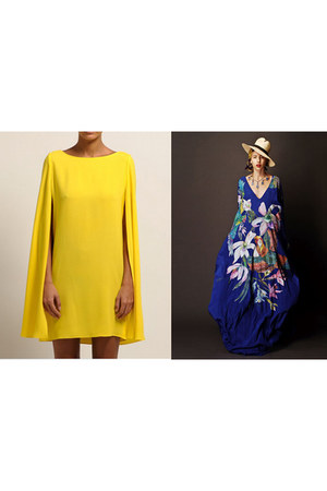 yellow fashion dress dress