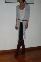 25 singles coat - Velvet top - Ksubi jeans - etienne aigner shoes - belt