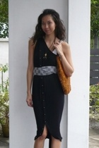 abyzz dress - Devi Kroell purse