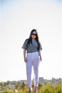 Baroque-swirls-ebay-sunglasses-tony-bianco-heels-zara-pants