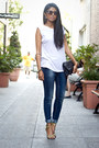 Navy-skinny-jeans-zara-jeans-light-yellow-yellow-zara-sandals