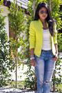 Tweed-neon-zara-blazer-boyfriend-jeans-urban-outfitters-jeans