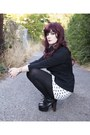 Litas-jeffrey-campbell-boots-forever21-dress-black-blazer-thrifted-blazer
