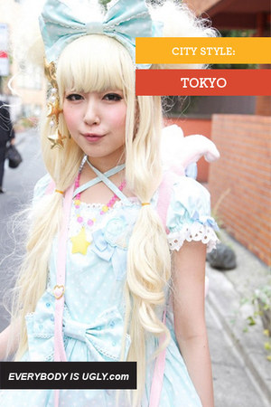 light blue lolita from japan dress
