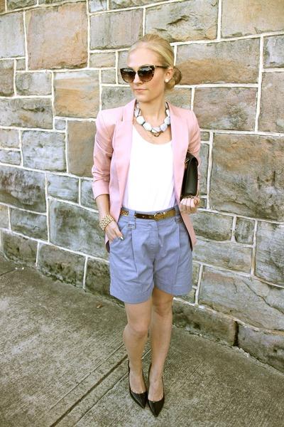 H&M blazer - Dion Lee shorts