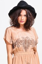 Lovely Bird Suede Bohemia Hat