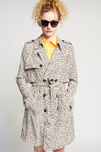 Line & Dot coat