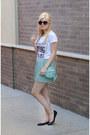 Aquamarine-quilted-wearinla-bag-black-round-moddeals-sunglasses