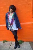 ROC Boots Australia boots - Zara scarf - Sportsgirl sunglasses - jacket