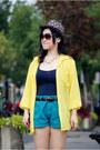 Yellow-american-apparel-shirt