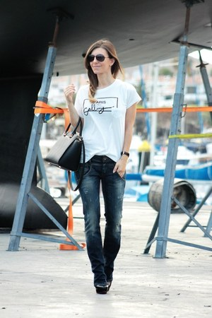 Michael Kors bag - Zara t-shirt