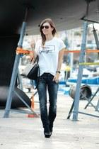 Michael Kors bag - Zara t-shirt