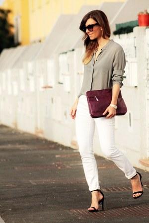 Zara jeans - Penny Black blouse