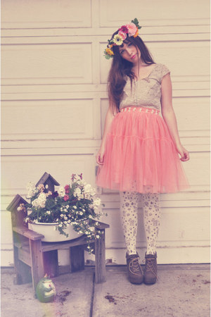 bubble gum tutu wwwoasapcom skirt - salmon handmade homemade hat