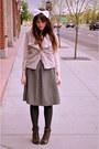 Hat-vest-skirt-wedges