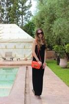 Topshop dress - Zara bag
