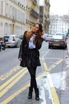 asos skirt - Isabel Marant boots