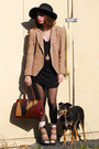 Beige-vintage-jacket-black-topshop-dress-brown-vintage-bag-beige-vintage-s