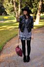 Heather-gray-h-m-skirt