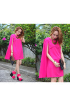 hot pink choies dress