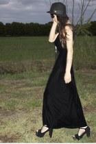 velvet wild hearts vintage dress - suede Jeffrey Campbell heels