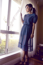 navy WillowMillie dress