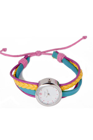 genuine leather Winky Designs watch