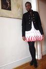 Black-forever-21-blazer-white-thrift-dress-black-joe-sanchez-shoes