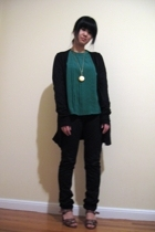 shirt - BDG pants - Lux coat - accessories