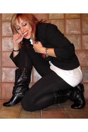 Aldo shoes - Target blazer - H&M shirt - forever 21 - Claires bracelet - forever