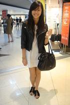 jacket - dress - Esprit - shoes