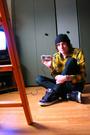 Purple-vox-shoes-blue-kc-jeans-purple-vurt-t-shirt-gold-volcom-shirt-bla