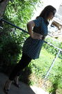 Green-thrifted-shirt-black-target-leggings-black-payless-shoes-beige-thrif