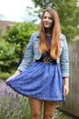 Lace-glamorous-dress-denim-matalan-jacket-topshop-belt-primark-flats
