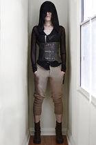 rick owens lilies jacket - Nicholas K pants - Margiela boots
