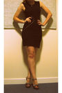 Black-primark-dress-silver-jessica-simpson-shoes