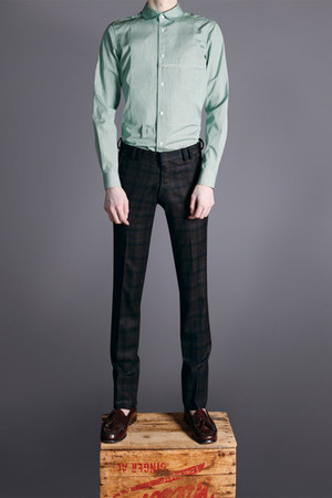 green Duly Equipped shirt - dark brown Duly Equipped pants