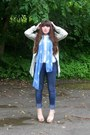 Aquamarine-floral-tapestry-vintage-coat-navy-skinny-pacsun-jeans