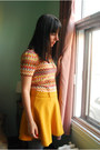 Mustard-oasap-skirt-heather-gray-urban-outfitters-tights