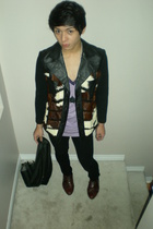 vintage jacket - Urban Outfitters shirt - H&M accessories