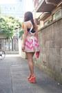 Tan-nadesico-dress-bubble-gum-lace-purse-moms-old-closet-bag