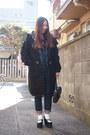 Black-purple-end-coat-navy-salopette-beauty-youth-united-arrows-jeans