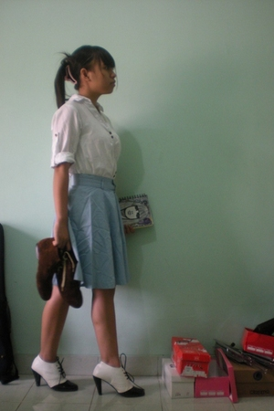 shirt - skirt - custom made shoes