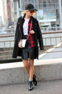 Black-choies-boots-black-banggood-coat-ruby-red-sheinside-shirt-white-bag