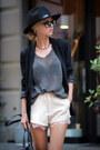 Black-blazer-neutral-lace-shorts-sheinside-shorts