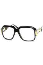 Retro Euro Square Hip Hop 80's Fashion Clear Lens Glasses 8901