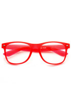 NEON GUMMY SOFT TOUCH RUBBER RAVE PARTY WAYFARER GLASSES 8802
